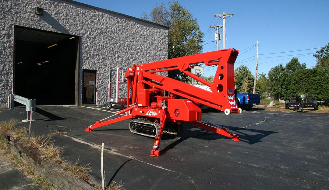 Teupen Leo GT15 spider lift