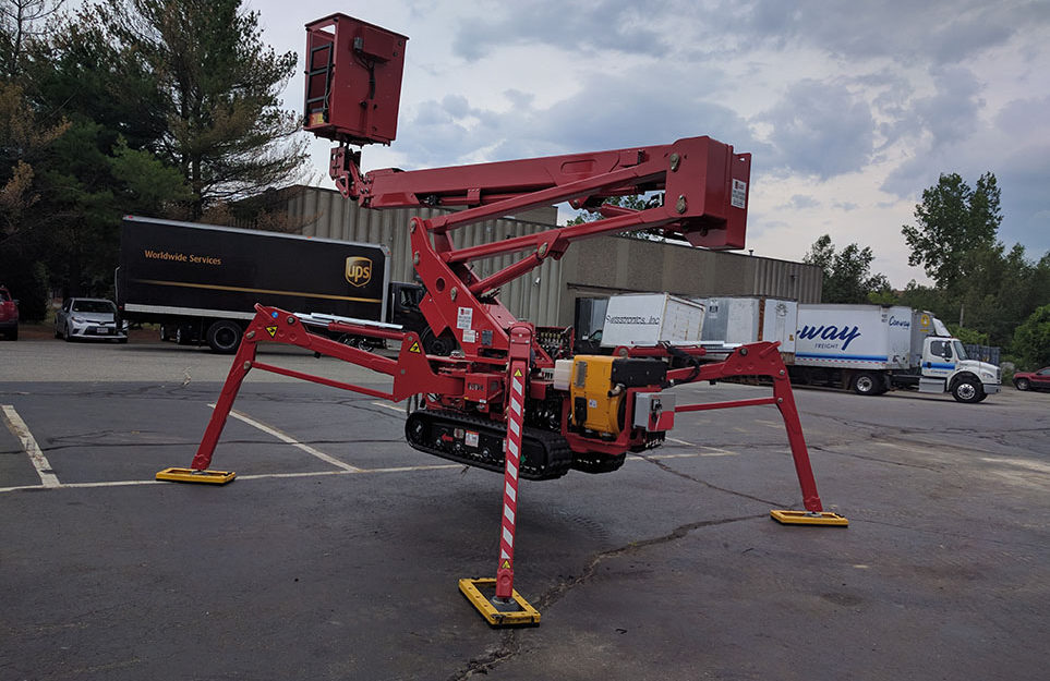 used 60HD Arbor pro track lift